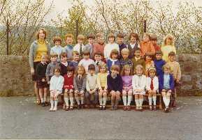 138 - Blackford Primary School, 1971-72