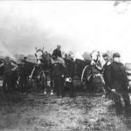 011 - Blackford carters with black watch territorials - 1914
