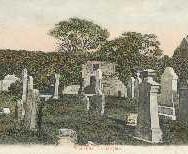 176 - Postcard - Blackford Churchyard
