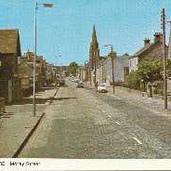 166 - Postcard - Moray Street, Blackford