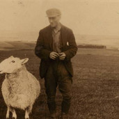 090 - Sandy Younger (and sheep), Kinpauch 1940