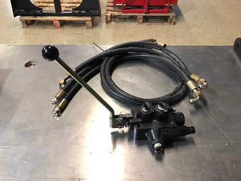 Kit valve hydraulique avec boyaux