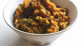Squash, Wild Rice, & Lentil Samhain Stew