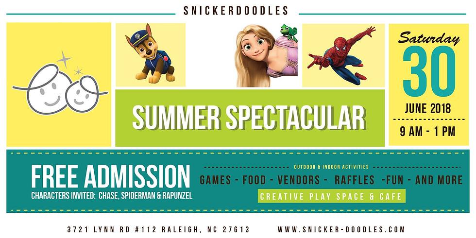 Snickerdoodles Summer Spectacular