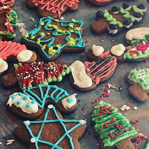 Frosted Gingerbread