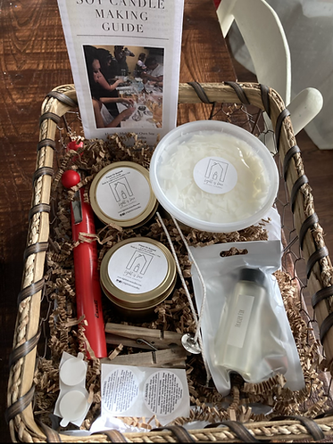 Soy Candle Making Kit and Guide
