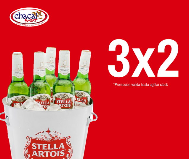 Stella Artois 3x2