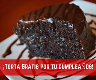Promocion Chacal Sport Torta Cumpleaños