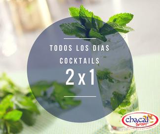 Promocion Chacal Sport Cocktails 2x1