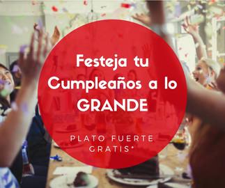 Promocion Chacal Sport Cumpleaños