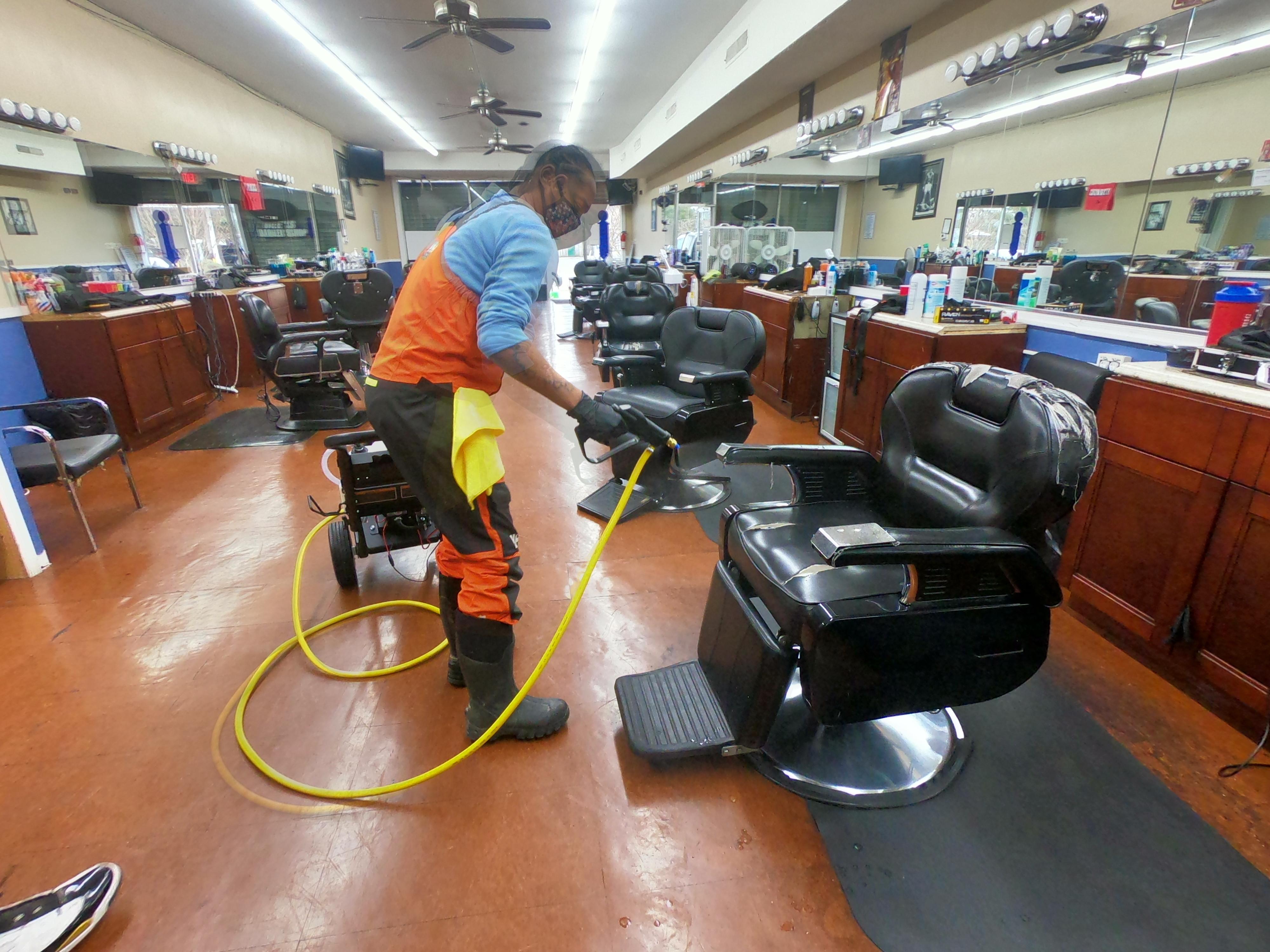 Office/Shop Interior Clean & Sanitize