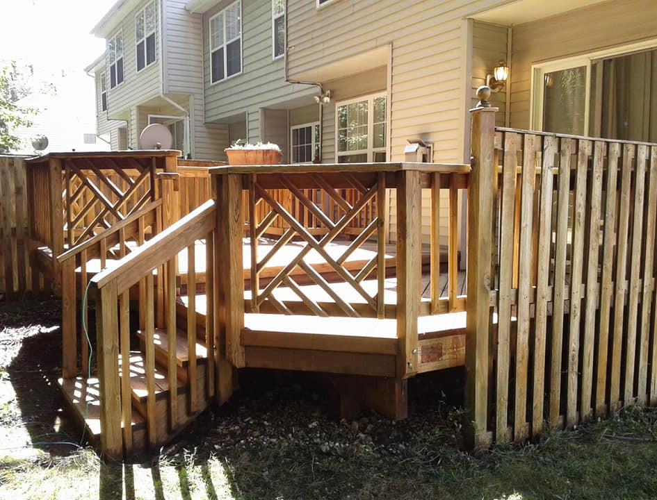 Residential Deck Cleaning