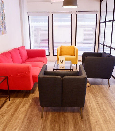 Sofa lounge at The Work Loft | Coworking space - Meeting room - Private office