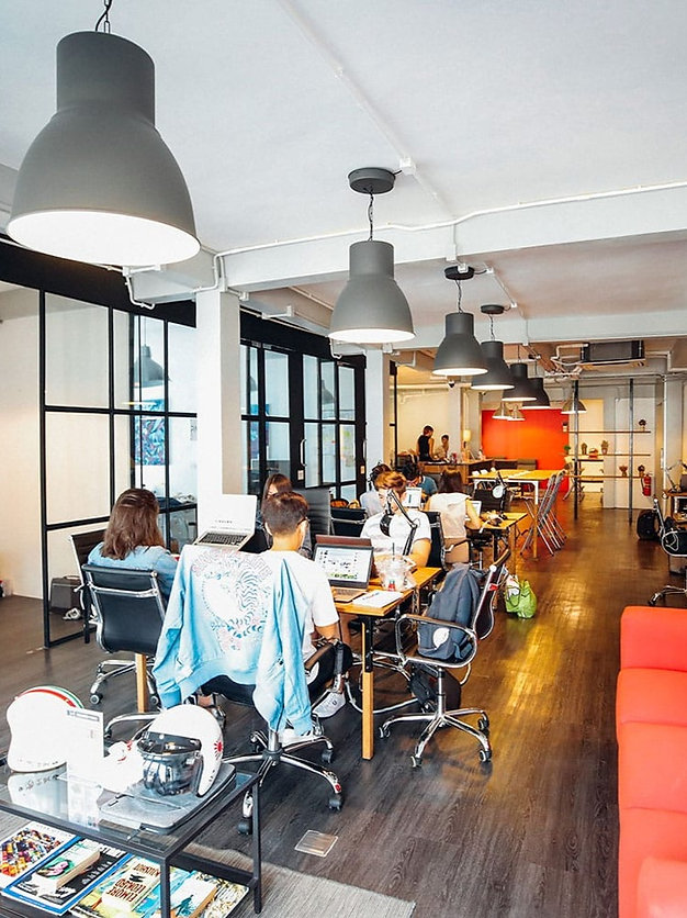 Coworking space atmosphere at The Work Loft | Coworking space - Meeting room - Private office