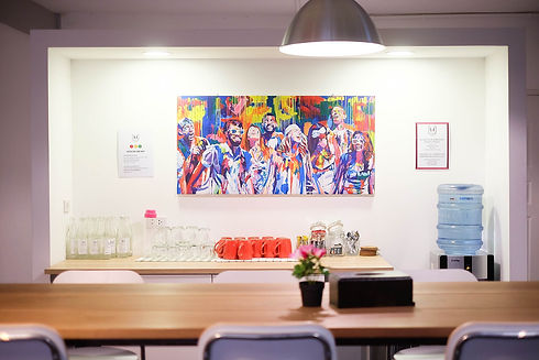 Decorated pantry at The Work Loft | Coworking space - Meeting room - Private office