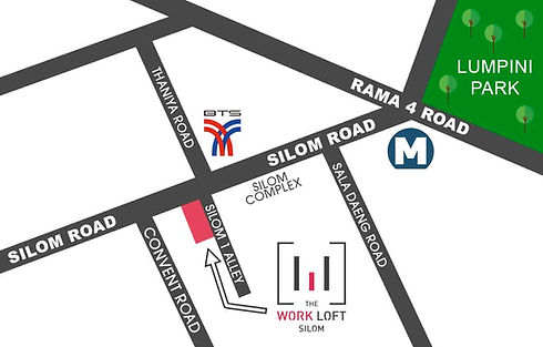 Location map of The Work Loft | Coworking space - Meeting room - Private office