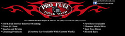 Pro Fuel Truck Wash