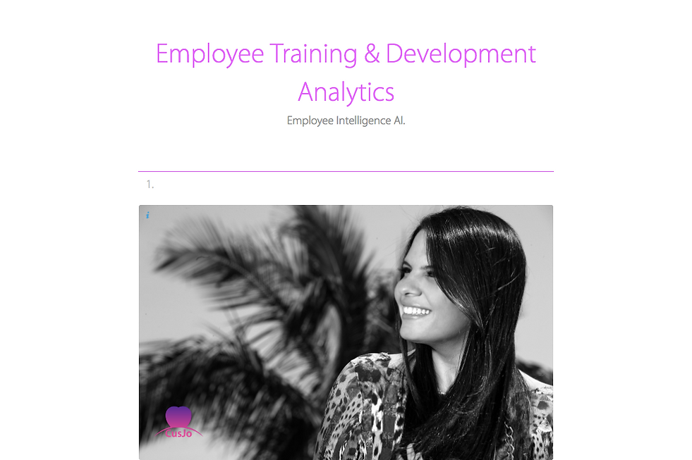 Employee Training & Development Analytic