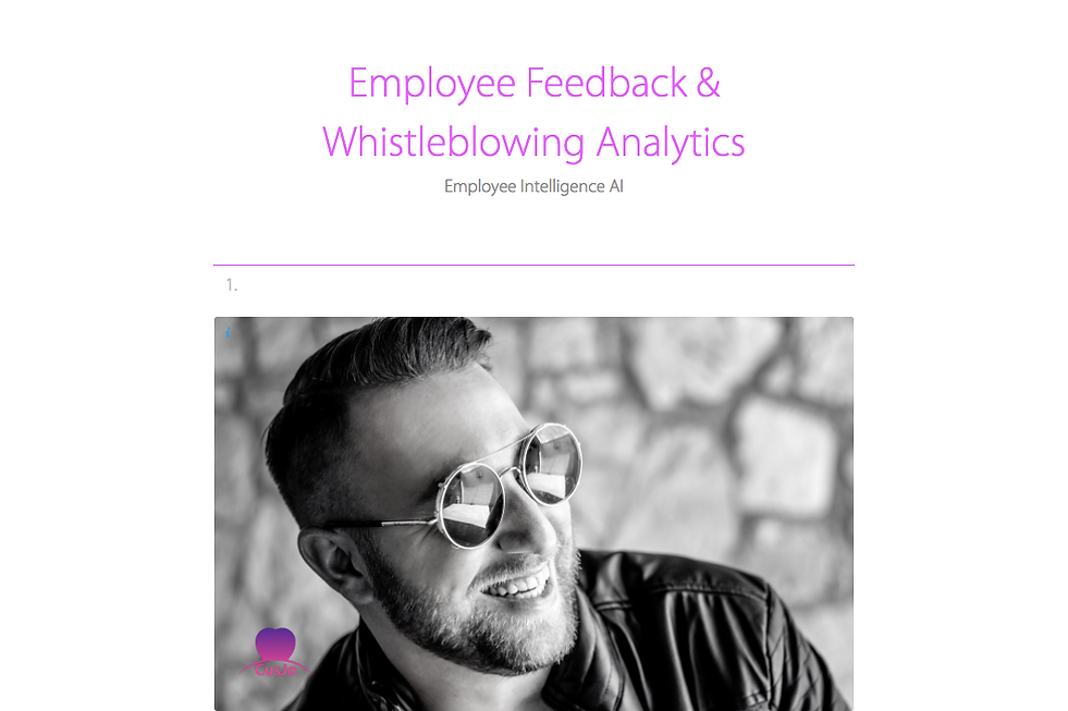 Employee Feedback & Whistleblowing Analy