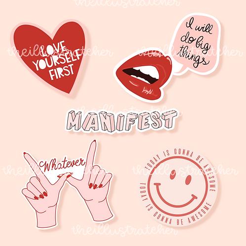 Motivation Sticker Pack