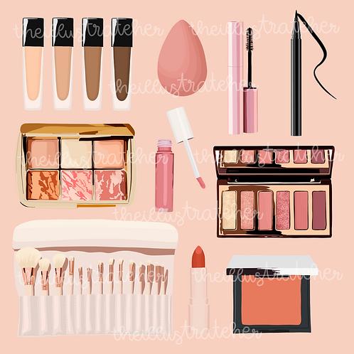 Makeup Digital Sticker Pack