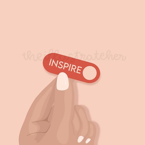 Inspire Sticker