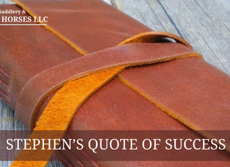 Stephen's Quote of Success