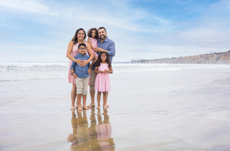 Vacation Family Photos at the beach in San Diego !
