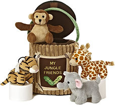 ebba - Baby Talk My Jungle Friends, 8-Inches
