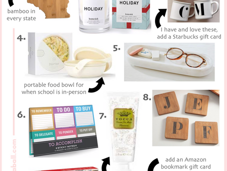 2020 Gift Guide For Teachers Under $25