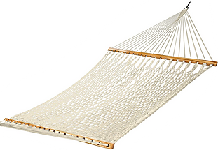 Traditional Hand Woven Cotton Rope Hammock
