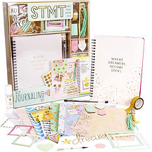 STMT DIY Journaling Set by Horizon Group USA, Personalize & Decorate Your Planner/Organizer/Diary