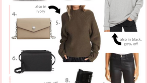 Easy Winter To Spring Look On Sale