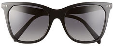 55mm polarized cat eye sunglasses celine