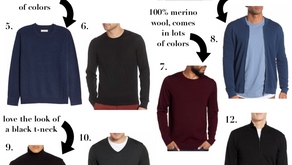Fall Sweaters for Him Under $100