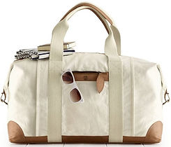 CANVAS AND LEATHER WEEKENDER
