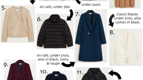 Budget Friendly Fall Outerwear