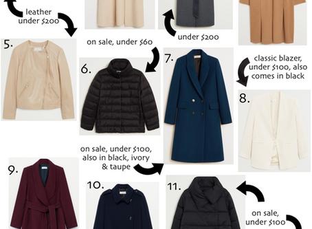 Budget Friendly Fall Outerwear