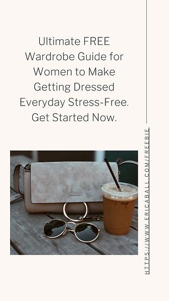 Ultimate FREE Wardrobe guide for women