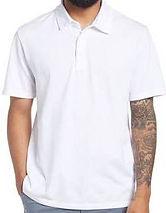 Garment Dyed Cotton Polo Shirt VINCE