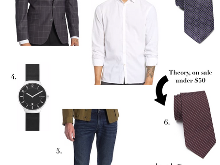 Holiday Looks for Him Under $100