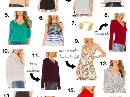 How to Transition from Summer to Fall Under $100