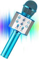 YOHIA Portable Handheld Karaoke Microphone for Kids