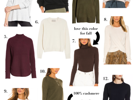 Fall Sweaters Under $100