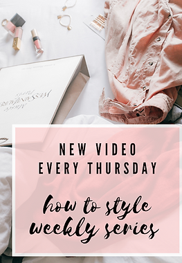 how to style videos