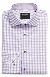 Trim Fit Check Non-Iron Dress Shirt
