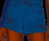 Barrow Cut Off Shorts BLANKNYC