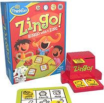 ThinkFun Zingo Bingo Award Winning Preschool Game for Pre-Readers and Early Readers Age 4 and Up