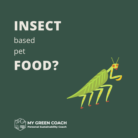 Insect Based Pet Food