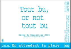 Tout bu or not tout bu